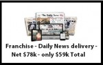 Route – Franchise – Daily News delivery – Net $78k – only $59k Total