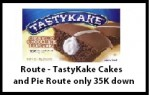 Route – TastyKake Cakes and Pie Route only 35K down